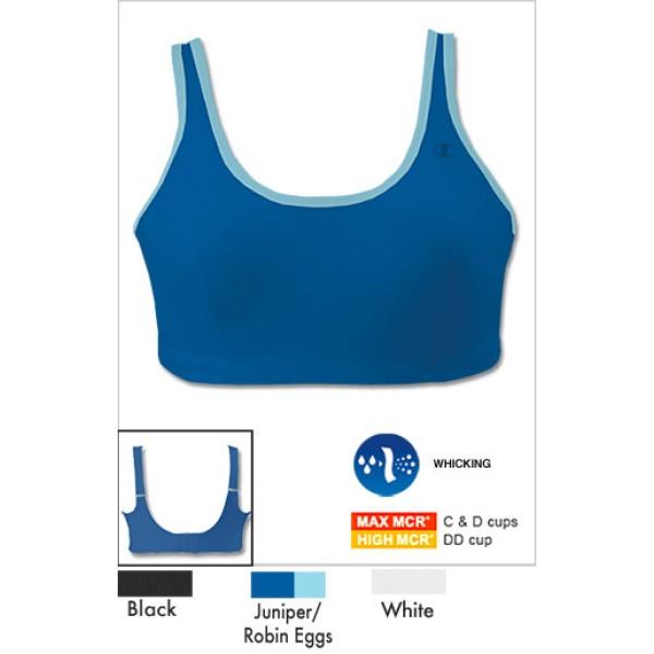 6c87591e9e Champion Scoop Back Full Support Underwire Sports Bra for Women
