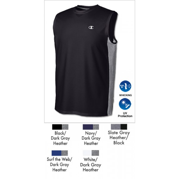 6774fd8c Champion Double Dry Fitted Muscle T-Shirt for Men