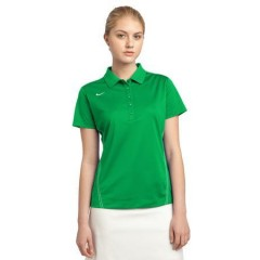 Nike Golf Dri-FIT Sport Swoosh Pique Polo for Women