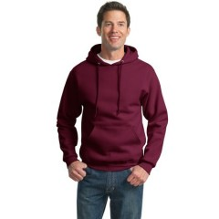 Jerzees SUPER SWEATS Pullover Hooded Sweatshirt for Men