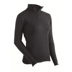 Coldpruf Expedition Weight Mock Zip Performance Thermal Top for Women