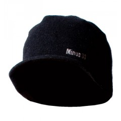 100% Pure Merino Wool Visor Beanie for Adults