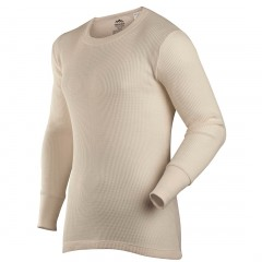 Coldpruf Fire Retardant Single Layer Modacrylic / Cotton Long Underwear Shirt
