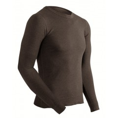 Coldpruf Lightweight Polyester Performance Stretch Ski Thermal Top for Men