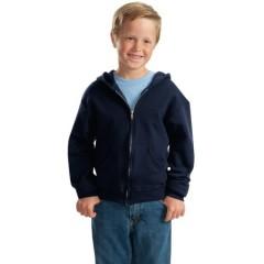 Jerzees NuBlend Full-Zip Hooded Sweatshirt for Youth