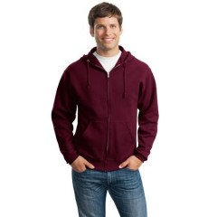 Jerzees NuBlend Full-Zip Hooded Sweatshirt for Men
