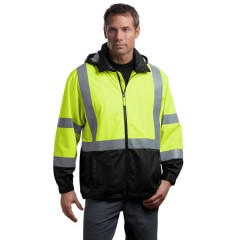 CornerStone ANSI Class 3 Safety Windbreaker for Men