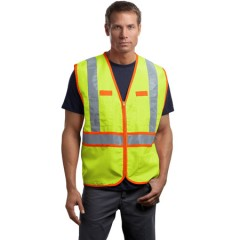 CornerStone ANSI Class 2 Dual-Color Safety Vest for Men