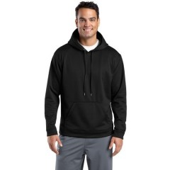 Sport-Tek Sport-Wick Fleece Hooded Pullover for Men