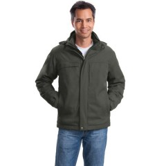 Port Authority Herringbone 3-in-1 Parka for Men