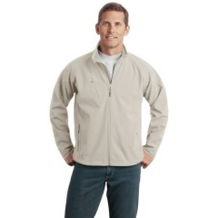 Port Authority Textured Soft Shell Jacket for Men