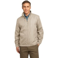 Port Authority Full-Zip Wind Jacket for Men