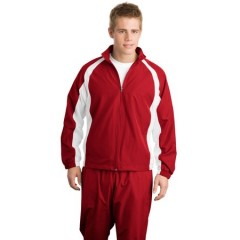 Sport-Tek 5-in-1 Performance Full-Zip Warm-Up Jacket for Men