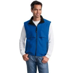 Port Authority Reversible Terra-Tek Nylon and Fleece Vest for Men