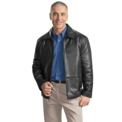 Port Authority Signature Park Avenue Lambskin Jacket for Men