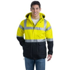 Port Authority ANSI Class 3 Safety Heavyweight Parka for Men