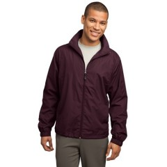 Sport-Tek Full-Zip Wind Jacket for Men