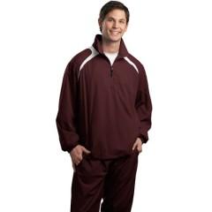 Sport-Tek 1/2-Zip Wind Shirt for Men
