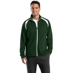 Sport-Tek Tricot Track Jacket for Men