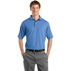 Sport-Tek Dri-Mesh Polo with Tipped Collar and Piping for Men
