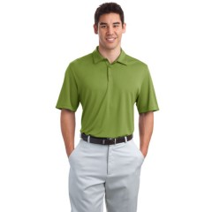 Port Authority Poly-Bamboo Charcoal Birdseye Jacquard Polo for Men