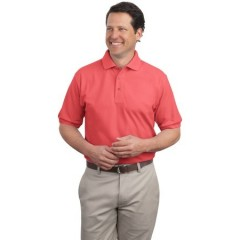 Port Authority Extended Size Silk Touch Polo for Men