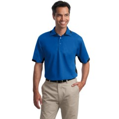 Port Authority Dry Zone Colorblock Ottoman Polo for Men