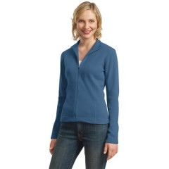 Port Authority Flatback Rib Full-Zip Jacket for Women