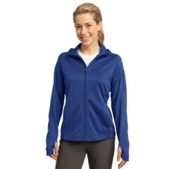 Sport-Tek Tech Fleece Full-Zip Hooded Jacket for Women