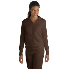Sport-Tek Full-Zip Hooded Fleece Jacket for Women