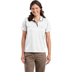 Sport-Tek Dri-Mesh Polo with Tipped Collar and Piping for Women