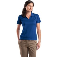 Sport-Tek Dri-Mesh V-Neck Polo for Women