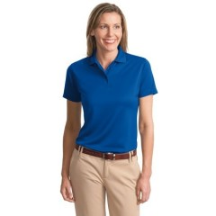 Port Authority Poly-Bamboo Blend Pique Polo for Women