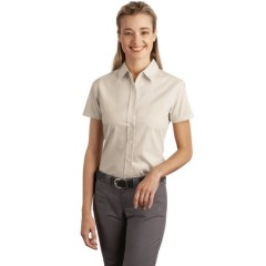 Port Authority Short Sleeve Easy Care Soil Resistant Shirt for Women