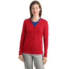 Port Authority Modern Stretch Cotton Cardigan for Women