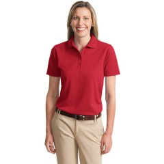 Port Authority Dry Zone Ottoman Polo for Women