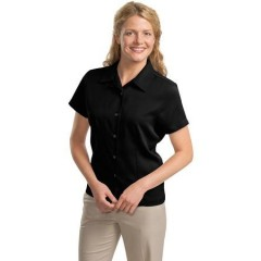 Port Authority Easy Care Camp Shirt for Women