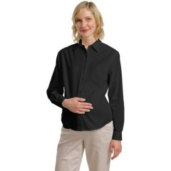 Port Authority Maternity Long Sleeve Easy Care Shirt for Men