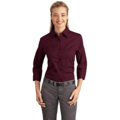 Port Authority 3/4-Sleeve Easy Care Shirt for Women
