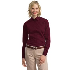 Port Authority Tonal Pattern Easy Care Shirt for Women