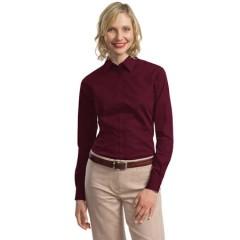 Port Authority Tonal Pattern Easy Care Shirt for Women
