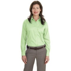 Port Authority Long Sleeve Non-Iron Twill Shirt for Women