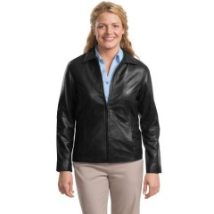 Port Authority Signature Park Avenue Lambskin Jacket for Women