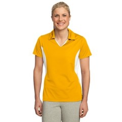 Sport-Tek Side Blocked Micropique Sport-Wick Polo for Women