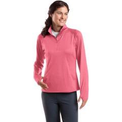 Sport-Tek Sport-Wick Stretch 1/2-Zip Pullover for Women