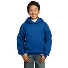 Port & Company Pullover Hooded Sweatshirt for Youth