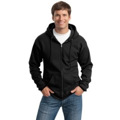 Port & Company Full-Zip Hooded Sweatshirt for Men