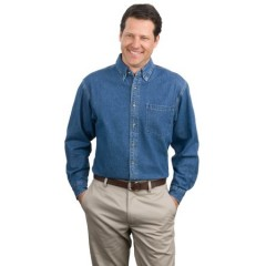 Port Authority Heavyweight Denim Shirt for Men