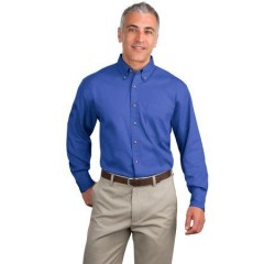 Port Authority Long Sleeve Twill Shirt for Men