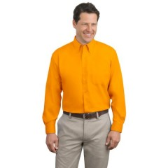 Port Authority Extended Size Long Sleeve Easy Care Shirt for Men
